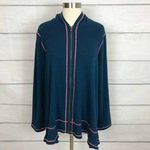 Matilda Jane Be Present Fleece Hoodie Size XL